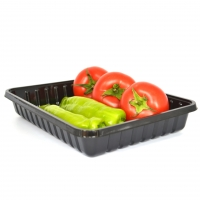 Buy cheap Eco Friendly Takeaway 24*18.5*4cm Disposable Veggie Tray from wholesalers