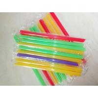 Buy cheap big diameter Dringking Straws Party Smoothies Jumbo Thick Drink Straw from wholesalers