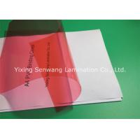 Buy cheap 8 Mil PVC Binding Covers Clear Finish A4 Clear Front Report Cover from wholesalers