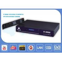 Buy cheap BLUESTAR 999HD VFD DVB S2 Satellite Receiver Support CCCAM Internet Sharing from wholesalers
