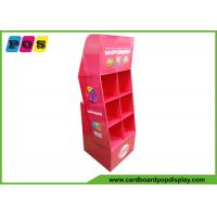 Buy cheap Advertising Cardboard PDQ Retail Display 6 Cells For Point Of Purchase POC043 from wholesalers