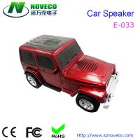 Buy cheap Portable docking station car shape speaker with USB TF FM mini radio from wholesalers