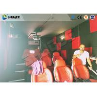 Buy cheap Motion Seat In XD Theatre With Cinema Simulator System / Special Effect Machine from wholesalers