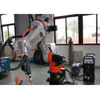 Buy cheap MIG TIG Robotic Welding Systems Servo Motor 10kg Max Payload Vertical Mounting from wholesalers