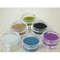 Buy cheap Gold / Clear Micro Glass Beads , Customized Glass beads For Vases from wholesalers