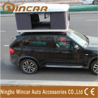 Buy cheap Hard Shell Fibreglass white box Car Roof Top Tent Manual by Handle Cranks from wholesalers