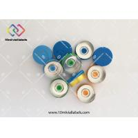 Customized Logo Printing Flip Off Vial Caps ,10ml Vial 20mm Flip Top Caps
