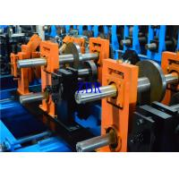 Buy cheap 1.2MM - 3MM Q195-235 Blue Z C Purlin Forming Machine With 17 Forming Roller product