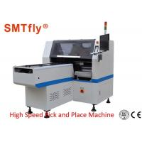 Buy cheap High Speed PCB Pick And Place Machine 0.02mm Mounting Precision 0.5Mpa Air Force from wholesalers
