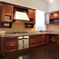 Buy cheap Solid Wood Kitchen Cabinet, Available in Various Styles, with E1 Cupboard, Carcase from wholesalers