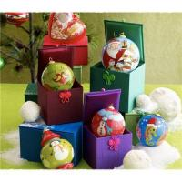 Buy cheap Inside-Painting Glass Christmas ball Ornaments from wholesalers