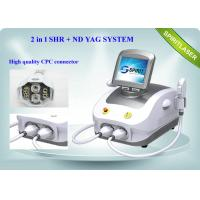 Buy cheap Portable E Light IPL Machine / Q-switch ND YAG Laser For Tattoo Removal from wholesalers