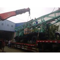 Buy cheap Eight - Tyres Trailer Chassis Farm Water Well Drilling Rig With Tricon Bit from wholesalers