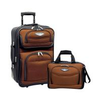 Buy cheap travel luggage two pieces set,travelling bags,soft trolley luggage bag manufacturers in China from wholesalers