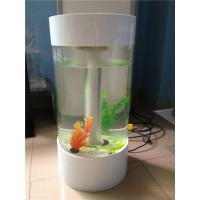 Buy cheap Popular Custom Acrylic Fish Tank With Led Light And Perfect Transparency from wholesalers