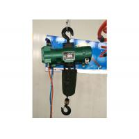 Buy cheap Durable Green Steel 6 Ton Air Pneumatic Chain Hoist Explosion Proof from wholesalers