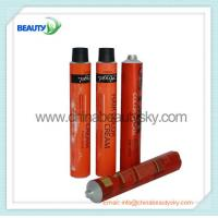 Buy cheap Empty  aluminum Collapsible tubes for hair dying cream packing 5C color printing from wholesalers