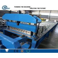 Buy cheap Customized Metal Roofing Roll Forming Machine Color Coated Surface Treatment from wholesalers