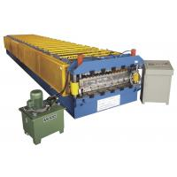 Buy cheap PLC 250Mpa max 15KW GCr15 Angle 45# steel cold roll forming line machine from wholesalers