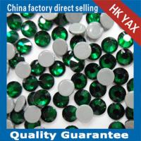 Buy cheap 0428 YAX205 Emerald color china swainstone senior brand hot fix crystals rhinestones from wholesalers