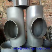 Quality Seamless or weld Stainless Steel Tee 310s 9 04l A815 S31803 S32205 2205 F51 for sale
