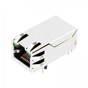 Buy cheap Tab Up 1000 Base-T RJ45 PoE Ethernet Connector HFJT1-1GHP-L17RL product
