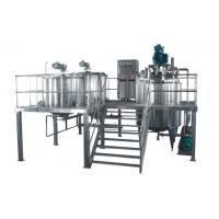 Buy cheap 30L Pharmaceutical Processing Machines Vacuum Emulsifying Machine from wholesalers