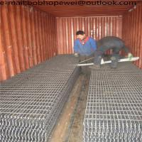 Buy cheap Galvanized Mild Steel Grating Galvanized Grating Metallic Drainage Bar Grating/Galvanized Gi Heavy Duty Metal Steel Bar from wholesalers