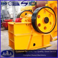 Buy cheap PE400*600 stone jaw crusher small jaw crusher for sale hot selling rock crusher in Africa from wholesalers