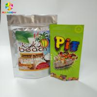 Buy cheap Lamination Stand Up Zipper Pouch Bags Flexible Packaging Food Pouches For Nuts Snacks from wholesalers