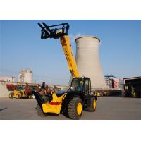 Buy cheap 3500kg Automatic All Terrain Telescopic Forklift Machine 13700 mm Height from wholesalers