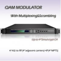 Buy cheap RTS4504 Four-Channel Mux-Scrambling QAM Modulator from wholesalers