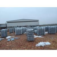 Buy cheap Hot Dipped Galvanized Solar Ground Screw N76mm from wholesalers