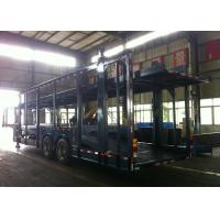 Buy cheap Auto Transport Commercial Car Carrier Trailer 8 Cars 8 Piece Leaf Spring Double Decker from wholesalers
