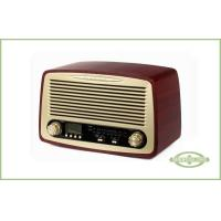Buy cheap Multifunctional Wooden Retro Radio With Alarm Clock from wholesalers