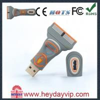 Buy cheap OEM PVC custom usb drives 8GB for gift china supplier from wholesalers