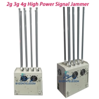 Buy cheap VSWR System 8 Channels 240w 100m Prison Cell Phone Jammer from wholesalers