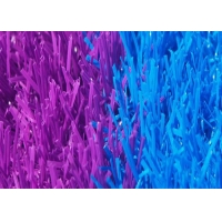 Buy cheap 13600 Dtex Rainbow Running Track Colored Artificial Turf product
