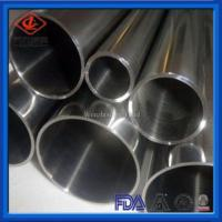 Buy cheap Customized Stainless Steel Welded Tube Stable Performance For Food Processing from wholesalers