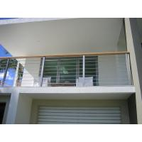 Buy cheap Exterior Stainless Steel Cable Railing Balustrade Wire Floor Mounted CE Approval from wholesalers
