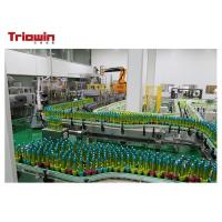 Buy cheap Industrial Fruit Juice Glass Bottle Filling Machine , Bottle Packing Machine 4.8Kw from wholesalers