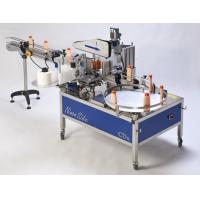 Buy cheap hand movement self adhesive flat labeling machine from wholesalers