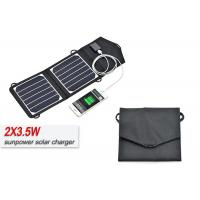 Buy cheap SunPower Cell Lightweight 12V Solar Panel Kit Safety With Overvoltage Protection product