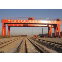 China Double Beam Rail Mounted Gantry Crane For Automobile / Construction / Engineering Industries on sale