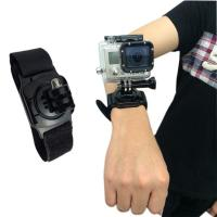Buy cheap Gopro Accessories 360-degree Rotation gopro Wrist Mount go pro accessories Hand Strap for gopro hero 5 4 3 Session from wholesalers