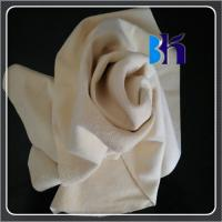 Buy cheap 2.50sqft Fish Oil Tanned Sheep Skin Genuine Chamois Leather Car Washing product