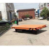 Buy cheap Without Rail Motorized Transfer Trolley 20 Ton Battery Transfer Cart For Material Transport from wholesalers