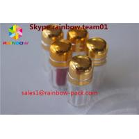Buy cheap Golden Color Plastic Pill Bottles For Rhino 69 9000 Enhance Male Sex Capsule Packaging from wholesalers