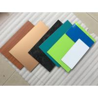 Buy cheap 3 Coats Yellow Aluminum Composite Material With Corrosion And Pollutant Resistance product
