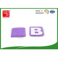 Buy cheap Small hook and loop Alphabet Letters Silk printing AB letters for kid' s formative education from wholesalers
